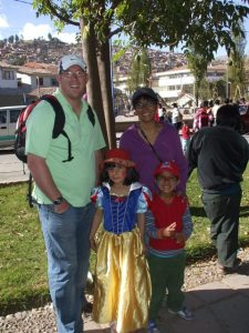 The Williamson Family (Baptist missionaries from Englans)