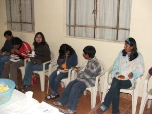 from left to right: Josue, Gustavo, Magali, Wendi, Nando, y Lupita