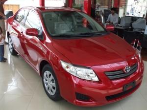 Our car - Toyota Corolla