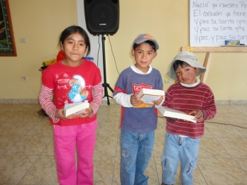 3 who got their Bibles