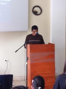 Paul preaching