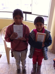receiving their Bibles